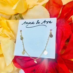 Anna & Ava Gold Necklace